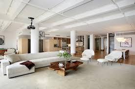 High End Home Decor Soho Loft Living Room Contemporary Home Decor Ideas Contemporary