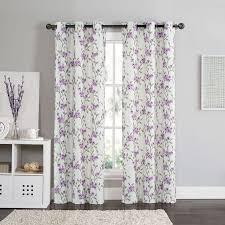 Purple Room Darkening Curtains 62 Best Window Curtains Images On Kitchen Window