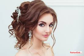 Stylish Hairstyles For Girls by Latest Party Hairstyles For Pakistani Girls Fashion Glob