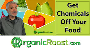 how to wash off and remove surface chemicals from produce