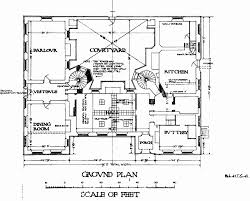 Manor House Floor Plan Plate 3 Ground And First Floor Plans British History Online