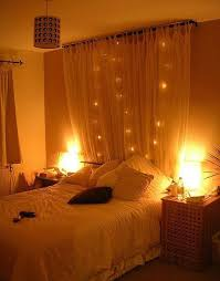 Home Design And Furniture Fair 2015 15 Diy Curtain Headboard With Christmas Lights Home Design And