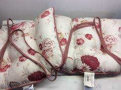 Feather Seat Cushions Waverly Norfolk Rose With New Feather Seat Cushion Vintage