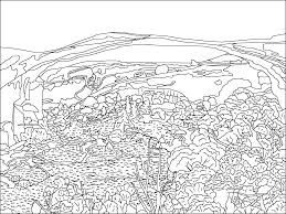 yellowstone national park within coloring pages eson me