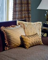 silk decorative throw pillows designer accent pillows for sale