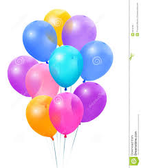 bunch of balloons bunch colored balloons stock photo image of streamers 6219196