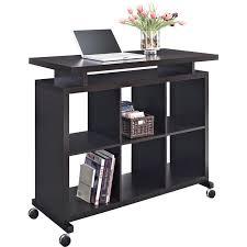 Espresso Desk With Hutch Standing Desk In Espresso 9801196com