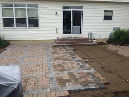 Patio Pavers Installation Installing Patio Pavers At Columbus Ohio Paver Patio