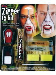 vampire zipper face kit zip fangs special effect fx makeup