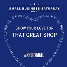 thank you for supporting our small business the saturday after