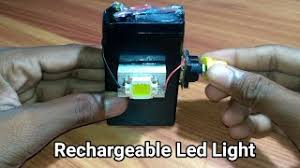 How To Make Led Lights Hmongbuy Net How To Make Rechargeable Led Light