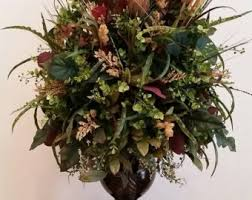 Traditional Flower Arrangement - foyer arrangement etsy