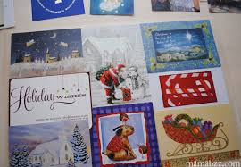holiday craft how to recycle old christmas cards into festive