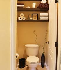 Bathroom Storage Behind Toilet More Storage For Small Bathroom Using The Over Toilet Spot