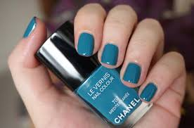 best blue nail polishes through the looking glass