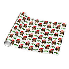 custom christmas wrapping paper 17 best unique wrapping paper images on unique