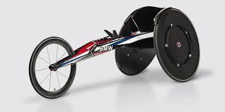 bmw made a carbon fiber racing wheelchair for team usa