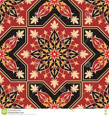 moorish seamless ornament stock vector image 80188252