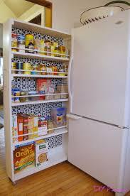kitchen pantry idea diy rolling pantry tutorial todos pantry lanzaroteya kitchen