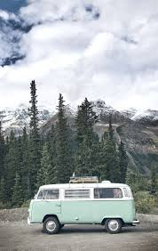volkswagen umbrella companies need this van vw bus in the mountains of alberta canada shot by