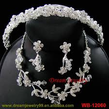 gold flowers necklace images Hot sale jewelry set red stone nice costume jewelry sets 18k gold jpg