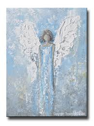 angel wings wall art shenra com abstract angel painting art print blue white angel wings home wall