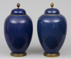Cobalt Blue Vases Product French Samson Cobalt Blue Vases
