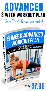 advanced 8 week workout plan tone and tighten