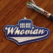 doctor headband doctor who inspired whovian ith headband slider embroidery design