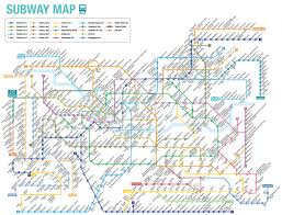 Subway Map by Seoul Subway Map