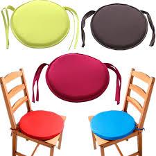 chaise de bureau ronde ronde chaise coussin intérieur pop patio coussin chaise de