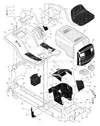 murray 46570x92a parts list and diagram 2000