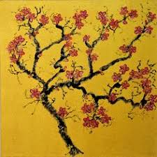 zhou chunya chinese b 1955 peach blossom 2013 oil on canvas