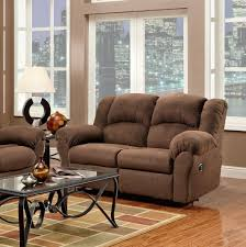 Loveseat Recliners Amazon Com Roundhill Furniture Aruba Microfiber Dual Reclining
