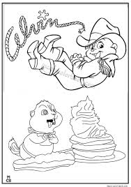 alvin chipmunks coloring pages 43