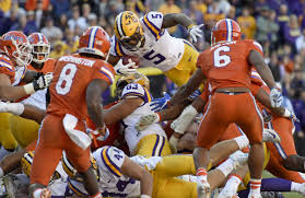stopped cold florida beats error prone lsu 16 10 with goal line