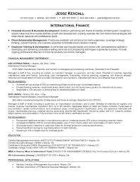 international resume sample top 8 international sales manager