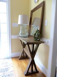 entry way table ana white x entryway table diy projects