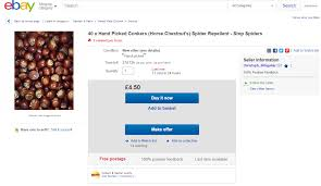 Ebay Microsoft Office by People Idiots Are Now Buying Batches Of Conkers Sold As Spider