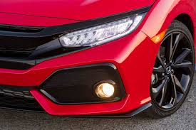 honda civic headlight 2017 honda civic hatchback drive review motor trend