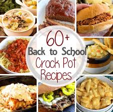 60 back to dinner crock pot recipes julie u0027s eats u0026 treats