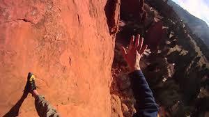 Rock Climbing Garden Of The Gods Gopro Fall At Garden Of The Gods