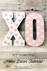 Valentine Home Decor Xo U0027 Valentine Home Decor Tutorial Make It And Love It