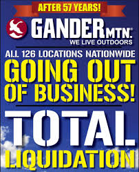 Gander by Gander Mountain Going Out Of Business All 126 Stores To Close