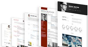 Resume Builder Online For Free by Create A Stunning Online Cv In Minutes
