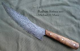 handcrafted kitchen knives custom handmade knives the chef s scimitar knives