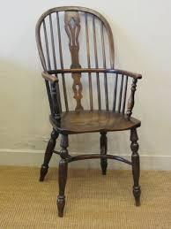 High Back Windsor Armchair Allpress Antiques Furniture Melbourne Victoria Australia