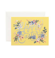 easter greeting card by rifle paper co made in usa