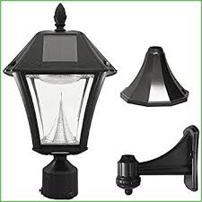 Solar Powered Wall Lights Uk - lighting solar gate post lamps solar powered lamp post