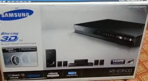 home theater blue ray mi samsung home theater blu ray 3d ht e3500 unboxing youtube
